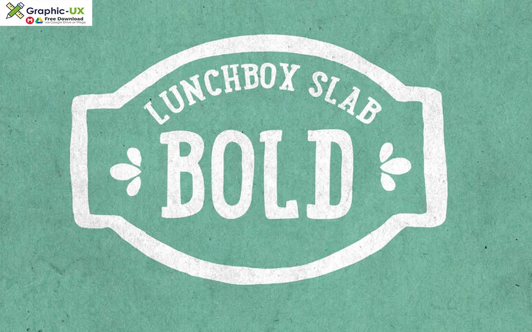 Lunchbox Slab Bold Font