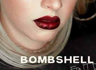 bombshell font free