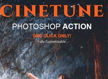 cinetune cinematic color grading effects photoshop action