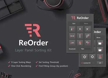 ReOrder – Layer Panel Sorting Kit