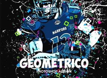 Geometrico - Photoshop Action