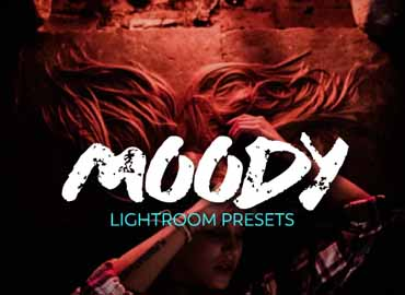 Moody Portraits Collection Lightroom Presets
